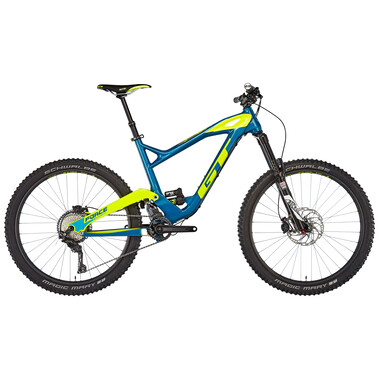 """MTB GT BICYCLES FORCE CARBON EXPERT 27,5"""" Blu/Giallo/ 2018"""